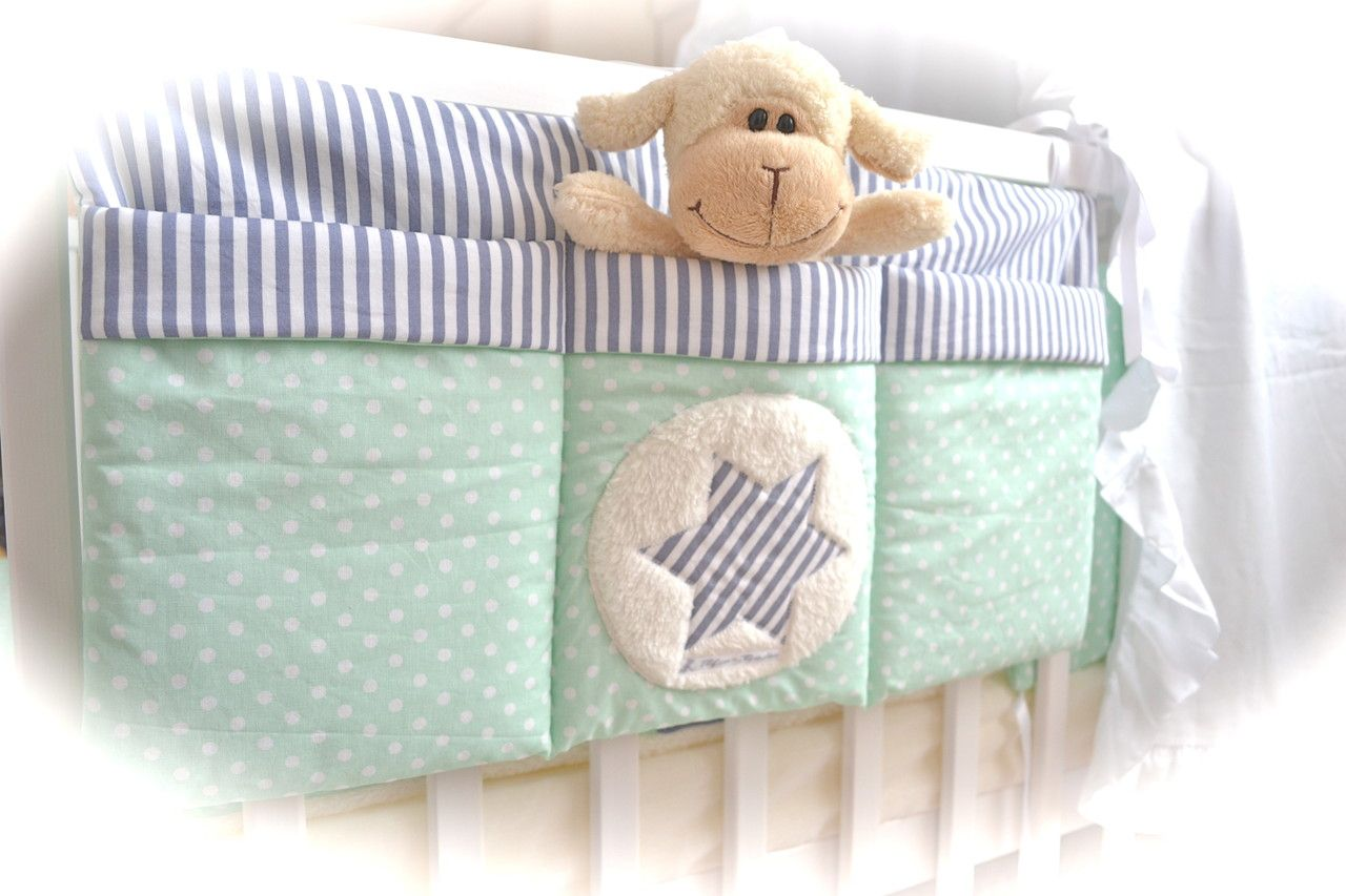 bett tasche bea tim mint grau babyzimmer pinterest babyzimmer n hideen und n hen. Black Bedroom Furniture Sets. Home Design Ideas