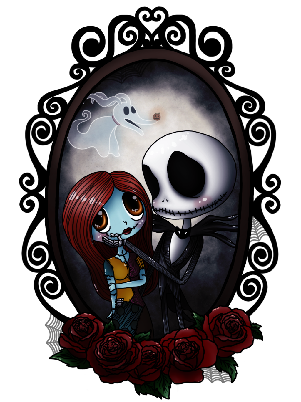 Jack And Sally By Supernaturalteaparty Deviantart Com On