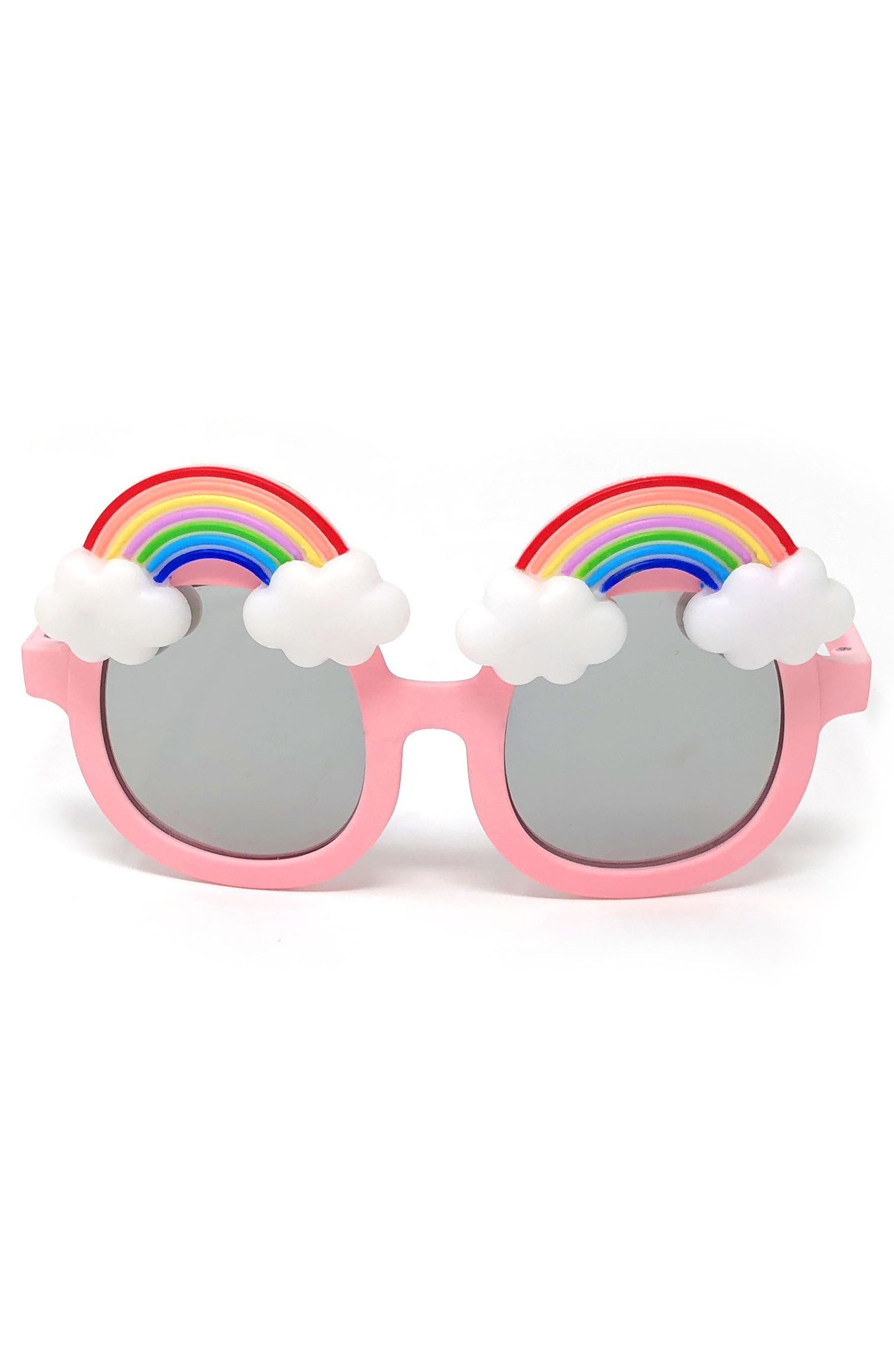 9e1242794c Large Round Rainbow Sunglasses