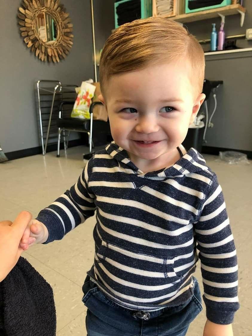 Zayden Michael Newgent S First Haircut Baby Boy First Haircut Baby Boy Haircuts Baby S First Haircut