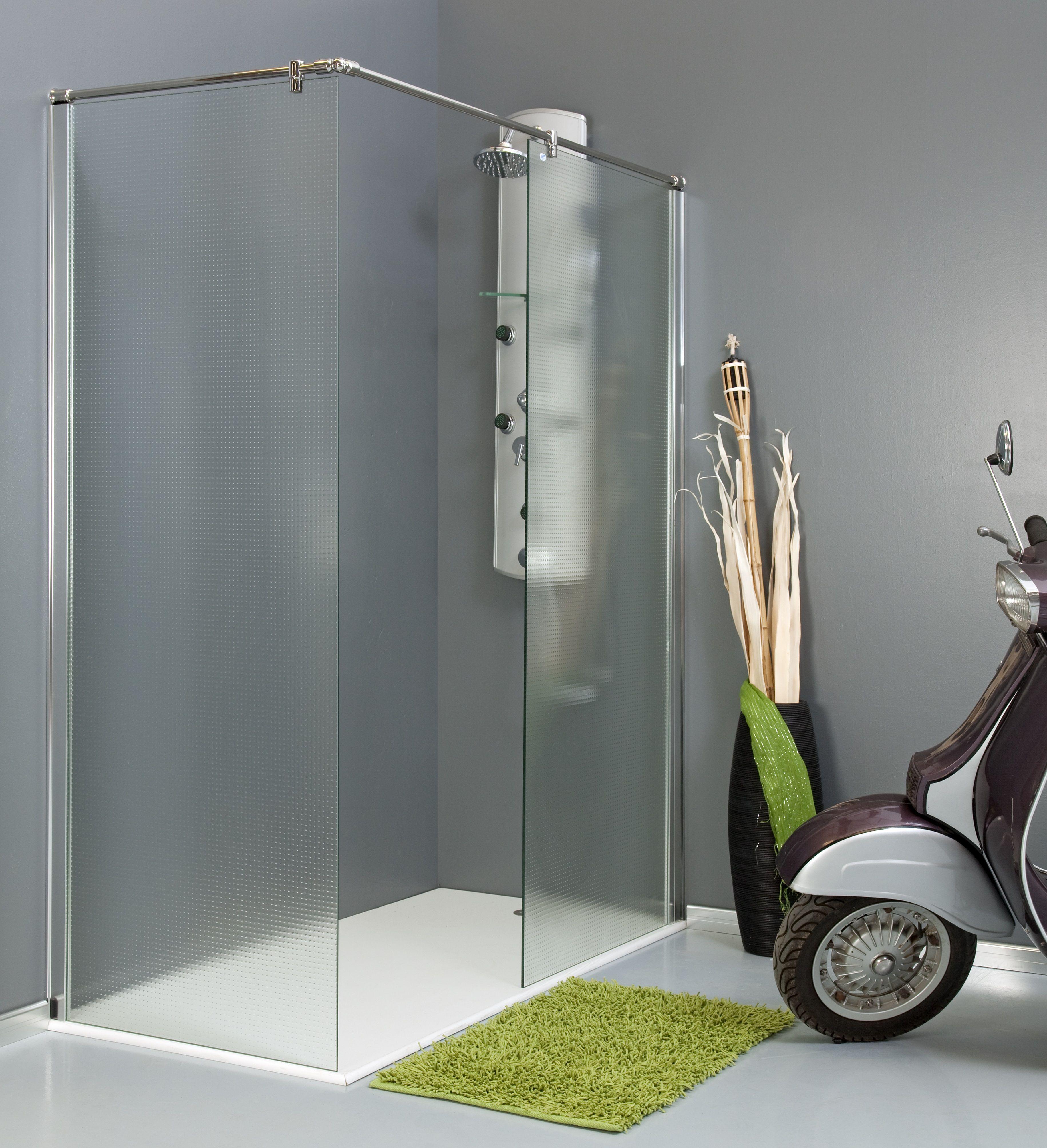 Serie liria mamparas de ba o en m laga - Mamparas de cristal para ducha ...