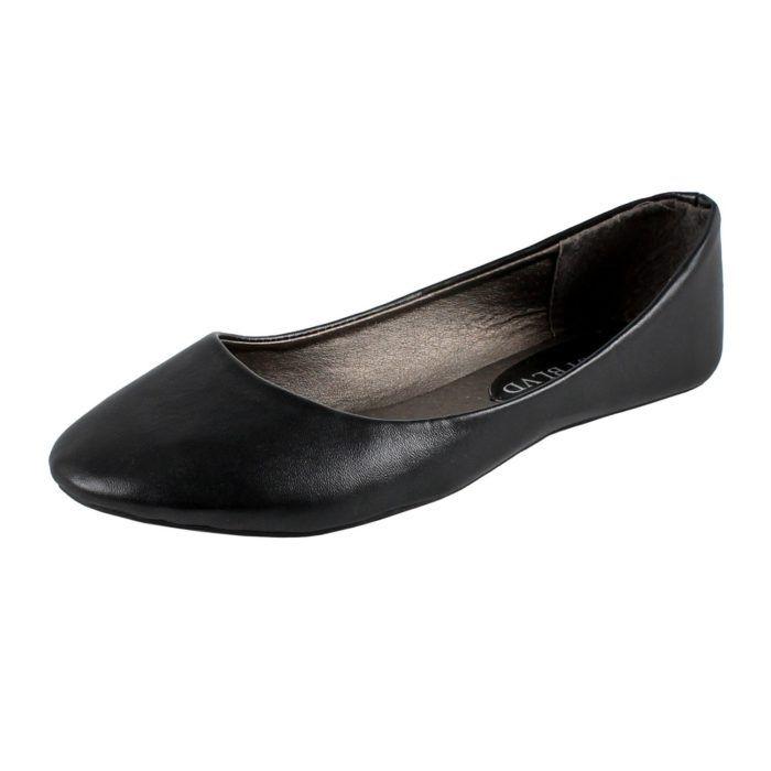 a1266e280d50d West Blvd Women s Basic Round Toe Ballet Flats – GO WELL SHOP