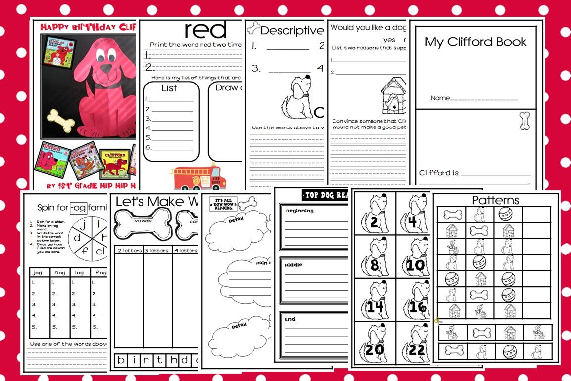 Check Out This Clifford Craft Super Easy And Fun
