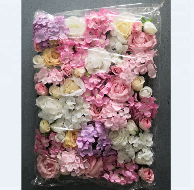 Source Wholesale Silk Flower Wall Panels For Wedding Decoration On M Alibaba Com Flower Wall Silk Flowers Floral Wreath