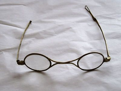 509820a5c0 Antique French Eyeglasses / Lunettes, I think they date from early 1800's?  Marked N Strasbourg