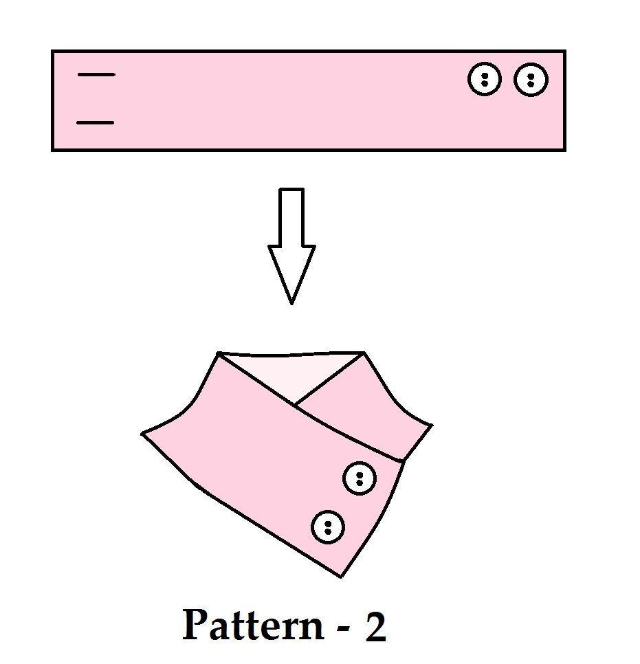 Cuello calentador- truco con boton 1 | CUELLOS | Pinterest | Botones ...