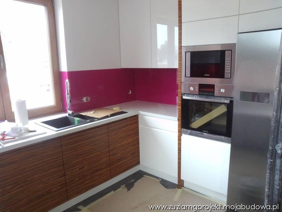 Realizacja domu Zuzia kuchnia #mgprojekt #projekt #   -> Kuchnia Kaflowa Domu