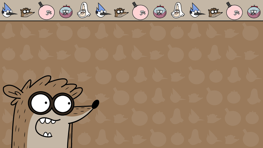 Regular Show Rigby Wallpaper By TheDorknight