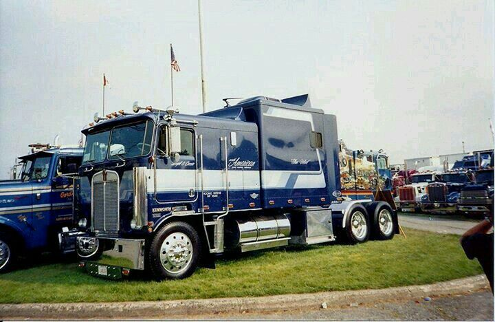 Kenworth Coe With Custom Extended Sleeper Kenworth Trucks