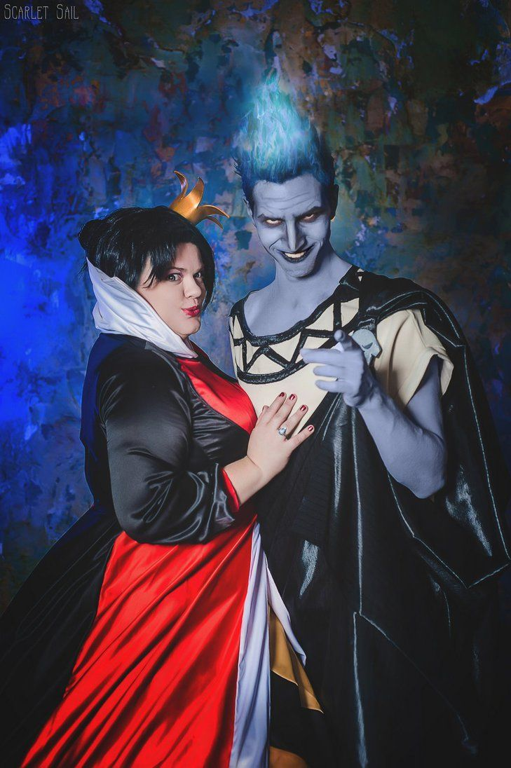 Queen Of Hearts And Hades Disney Villians By Matsu Sotome