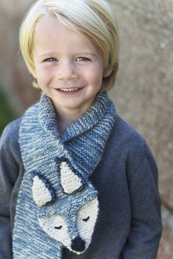 Warme Gunther sjaal, #haken, gratis patroon, das, vos, shawl ...