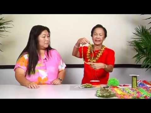 ▶ The Joy of Crafting 177/1 - Ribbon Petal Lei - YouTube