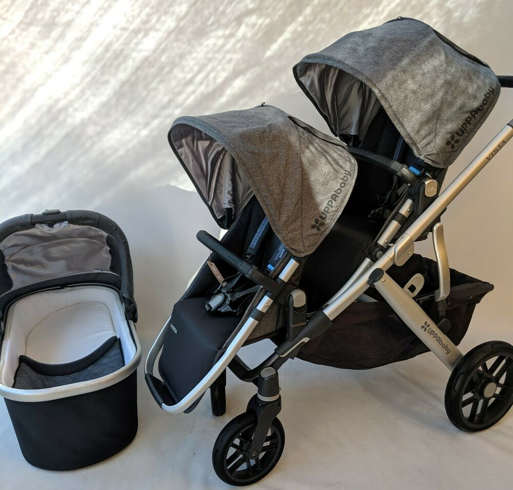 Uppababy Vista Double stroller 2018/2019 jordan UPPAbaby