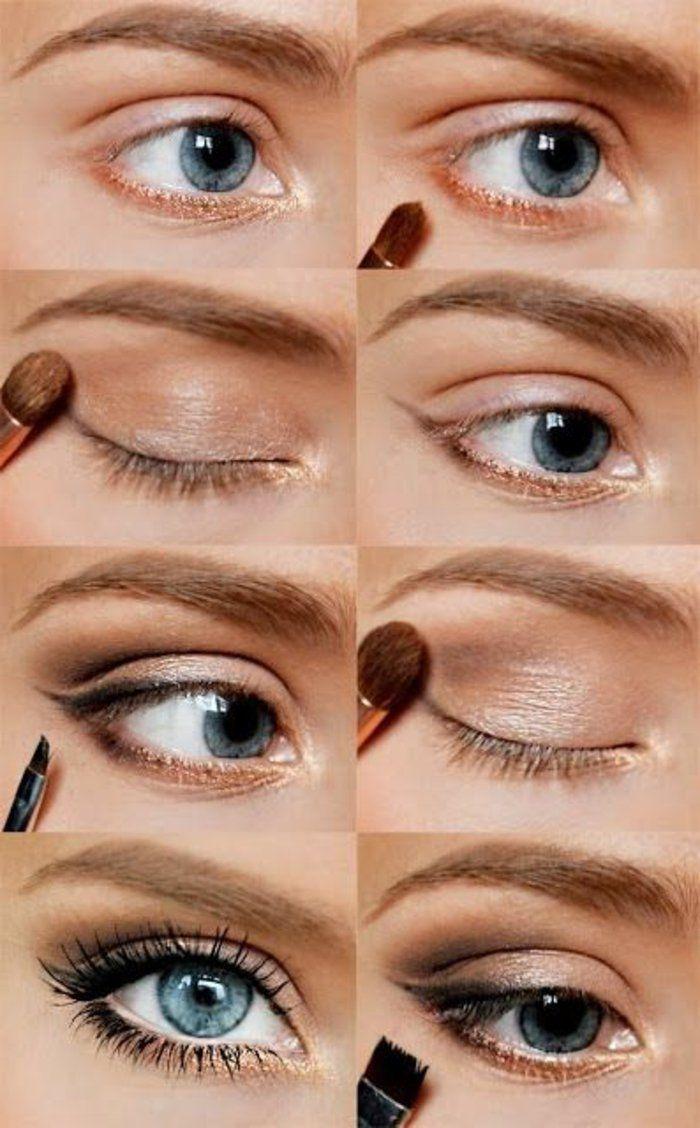 comment choisir le maquillage pour agrandir les yeux comment maquiller les yeux maquiller. Black Bedroom Furniture Sets. Home Design Ideas