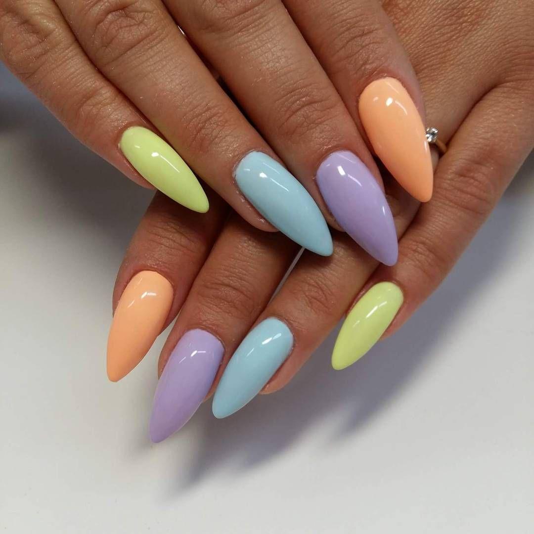 Easter nails - nagels | Pinterest - Nagel, Gelnagels en Nagel ontwerp