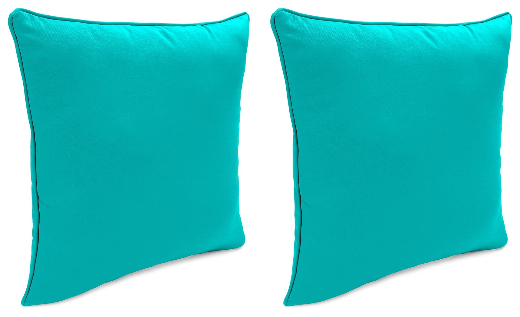 Green Turquoise Teal Throw Pillow