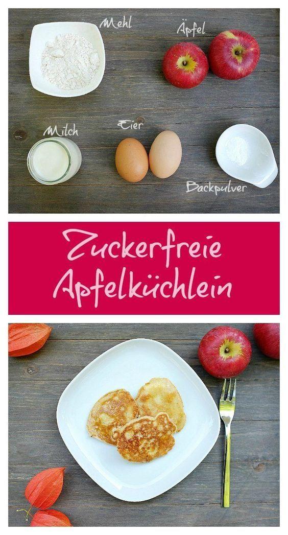 Zuckerfreie Apfelküchlein – Schnelle Rezepte aus meiner Küche – Carey&CleanEatingS