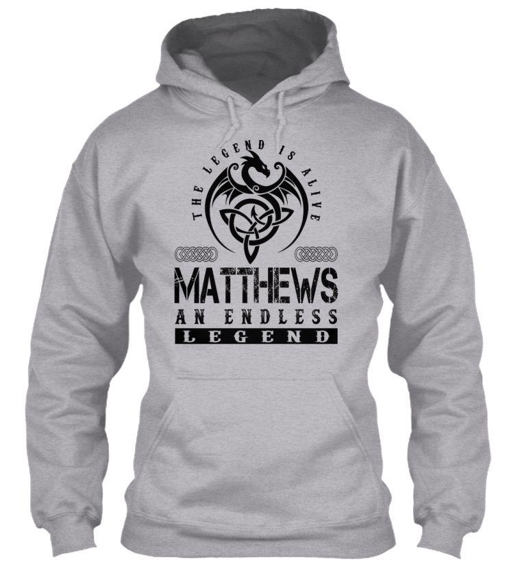 MATTHEWS - Legends Alive #Matthews