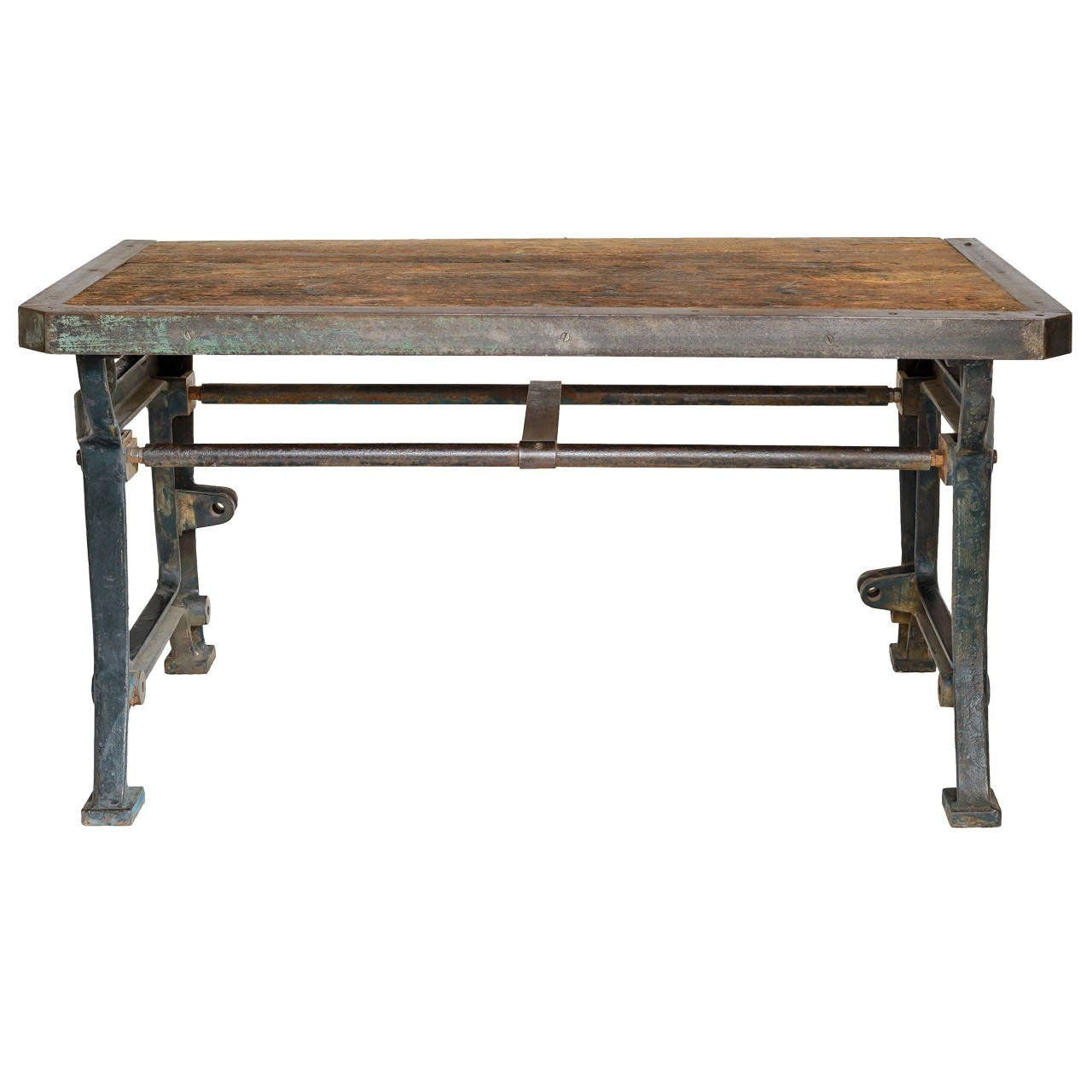 19th Century French Industrial Table #frenchindustrial