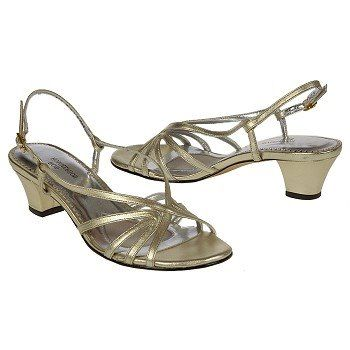 Ros Hommerson Layla Shoes (Gold) - Women's Shoes - 11.0 2W