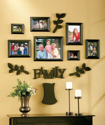 Family Tree Frame Set - 12 Pieces! BLACK LCL,http://www.amazon.com ...