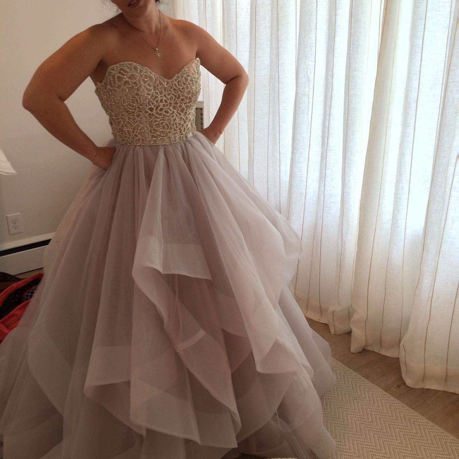 Pre owned wedding dress  Hayley Paige DoriJosie  Size   Used Wedding Dresses