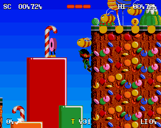 Buy Zool For The Amiga Games Online From Retro Gaming World