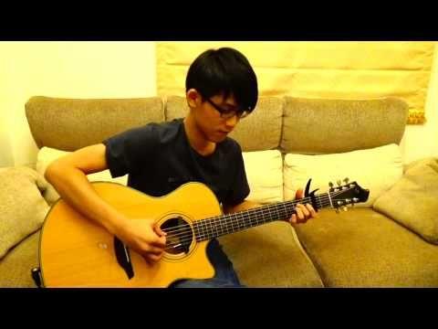 HUNTER X HUNTER 獵人片頭曲 - 早安おはよう(acoustic guitar solo) - YouTube