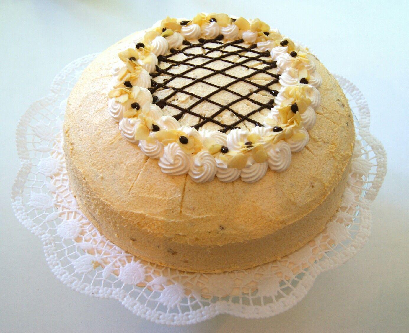 Kuchen mit kokos und marzipan