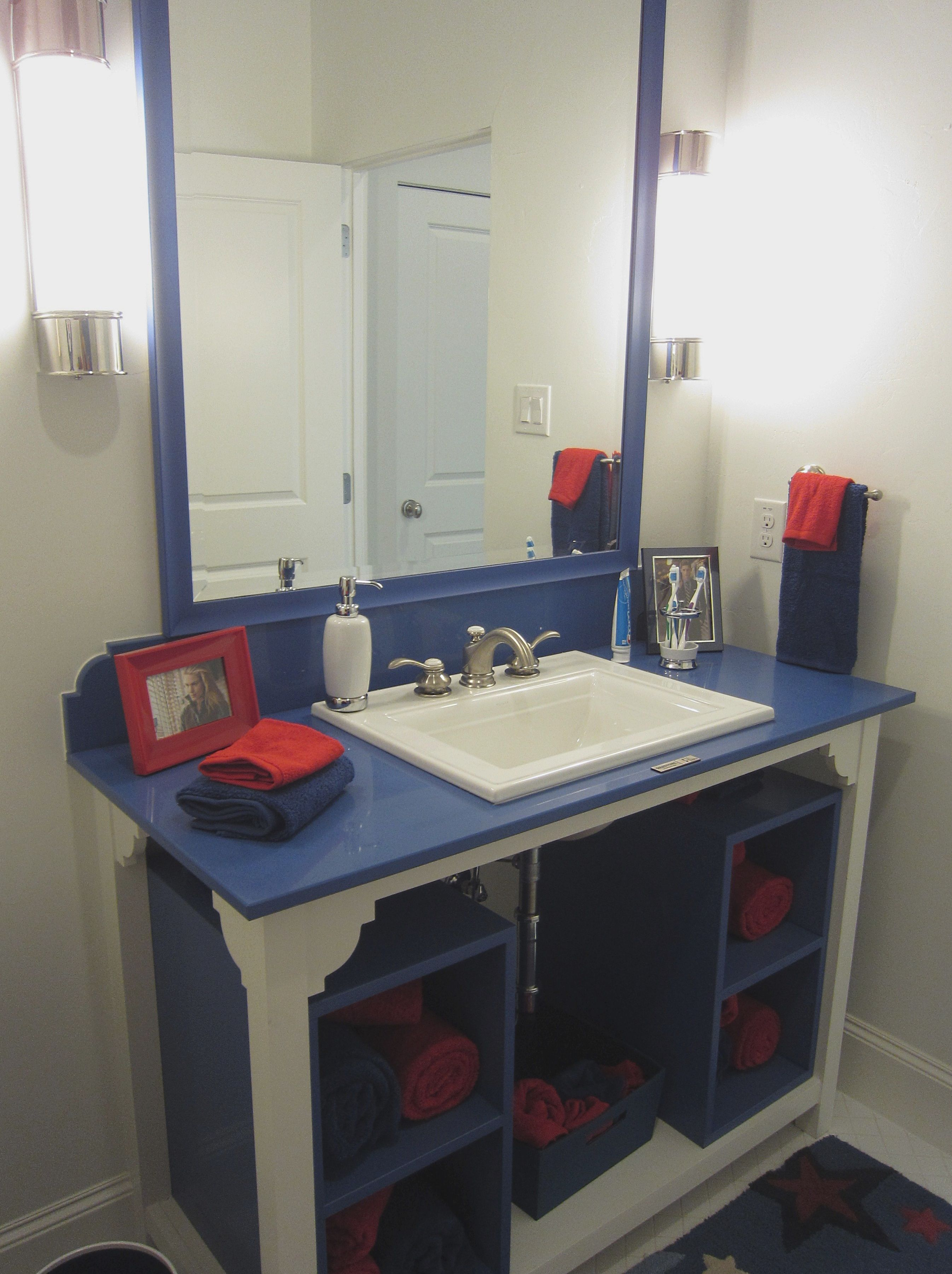 Cute boys bathroom