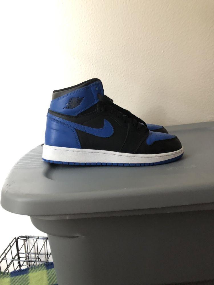 583da356fee3 NIKE AIR JORDAN 1 RETRO HI OG ROYAL BLUE SIZE 7  fashion  clothing ...