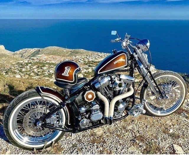 Pin by Cars, Cycles & Cool 🏁 on Motorcycles☠️ Softail