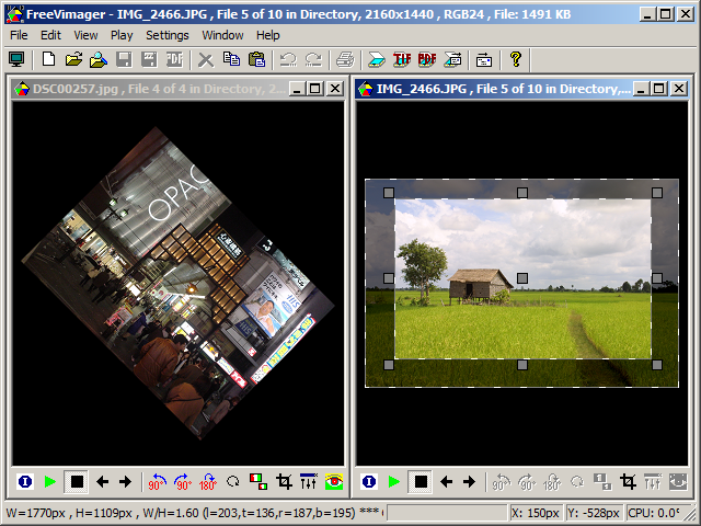 FreeVimager v9.0.0 A fast and portable image viewer and