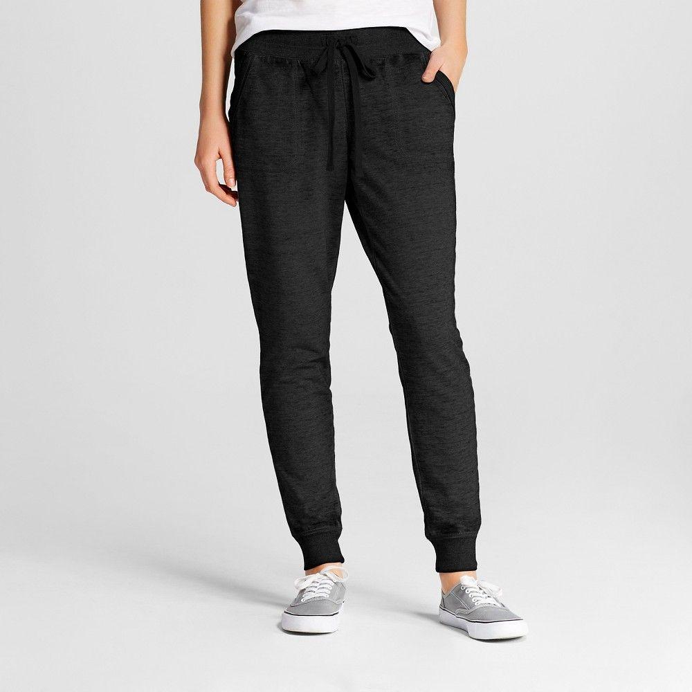Women S Jogger Pants Black Xl Mossimo Supply Co Juniors Women Jogger Pants Jogger Pants