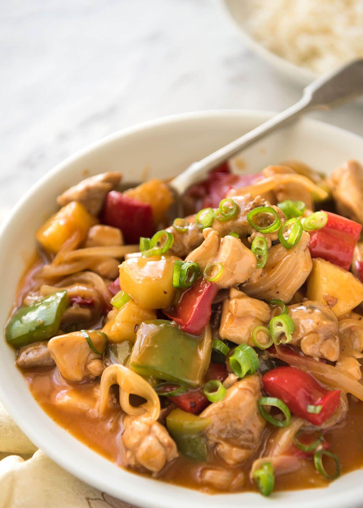 Sweet and sour chicken stir fry recipe chicken stir fry stir sweet and sour chicken stir fry best chinese restaurantsweet forumfinder Choice Image