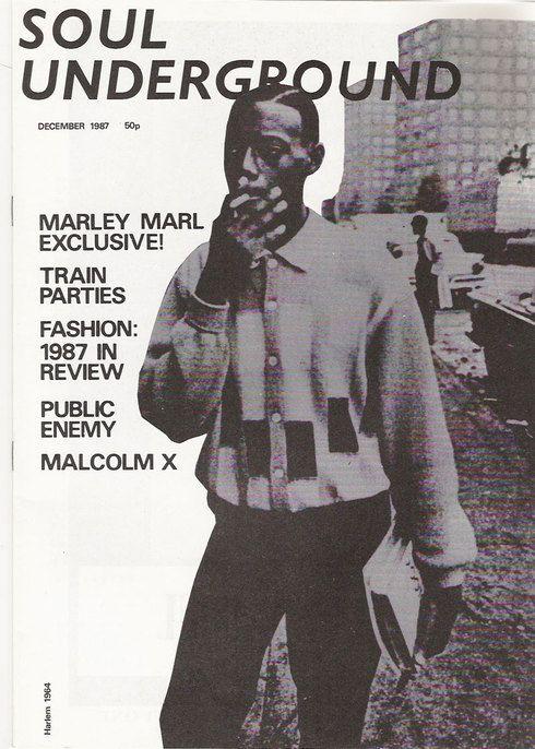 Soul Underground magazine - issue - 1987/December    Hip Hop