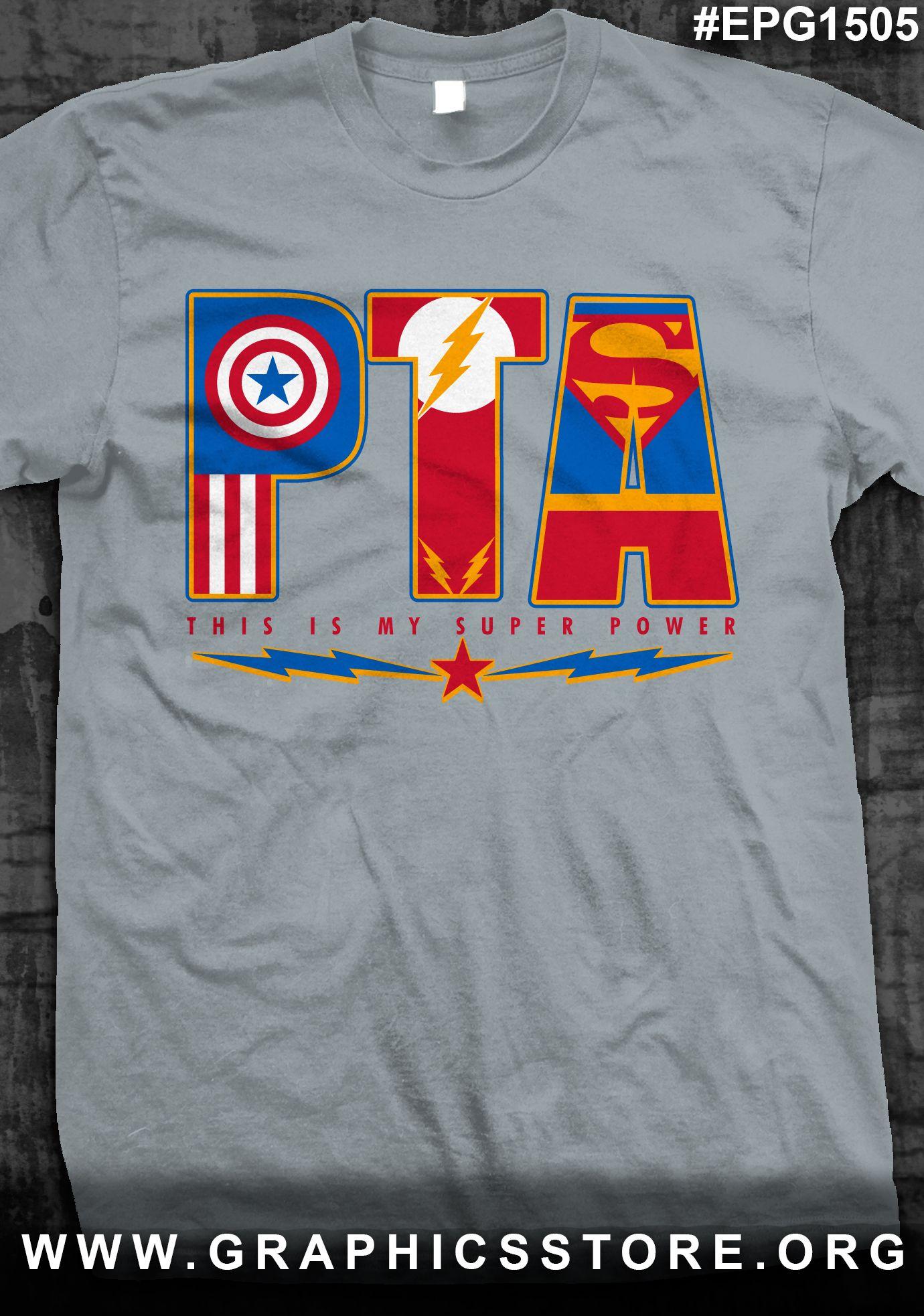 T shirt design ideas for schools - Epg1505 Pta School Shirt