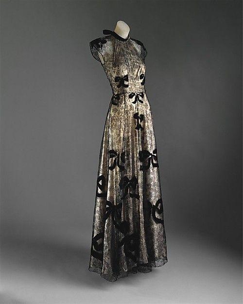 Evening Dress Madeleine Vionnet, 1939 The Metropolitan Museum of Art