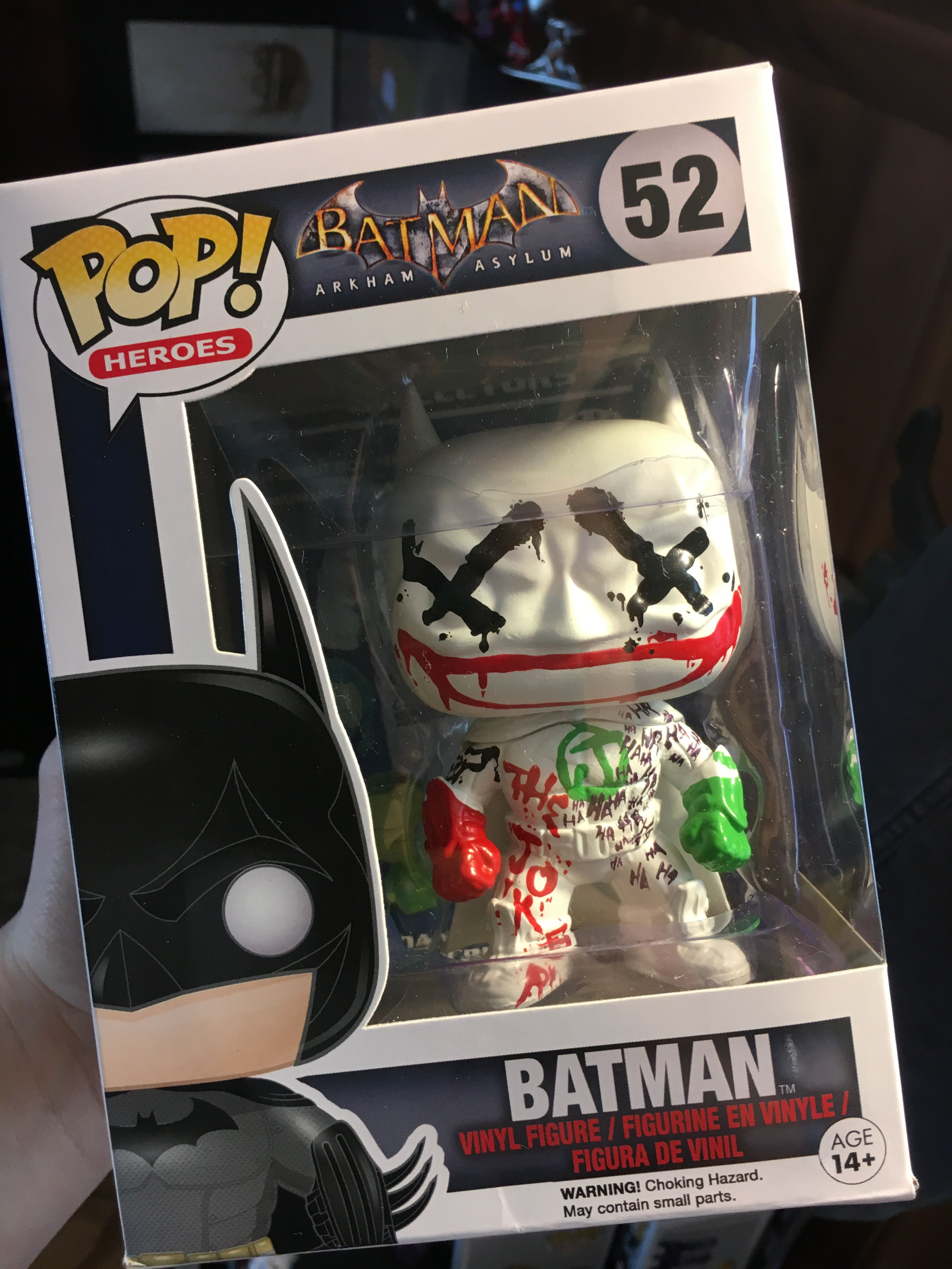 Vinyl Batman Batman Who Laughs US Exclusive Pop