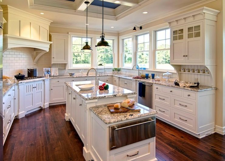 Farinelli Construction   Kitchens   Duron   Shell White   Ivory, Kitchen  Cabinets, Coffered