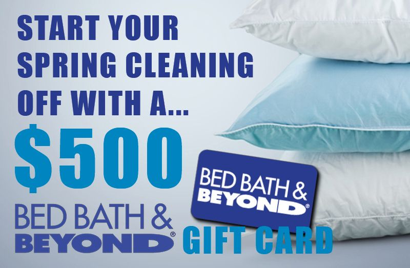 Enter Our Bed Bath Beyond Giveaway For Chance To Win A Free