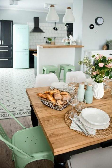 56 Idees Comment Decorer Son Appartement Voyez Les Propositions Des Specialistes Salle A Manger Verte Comment Decorer Son Appartement Salle A Manger Campagne