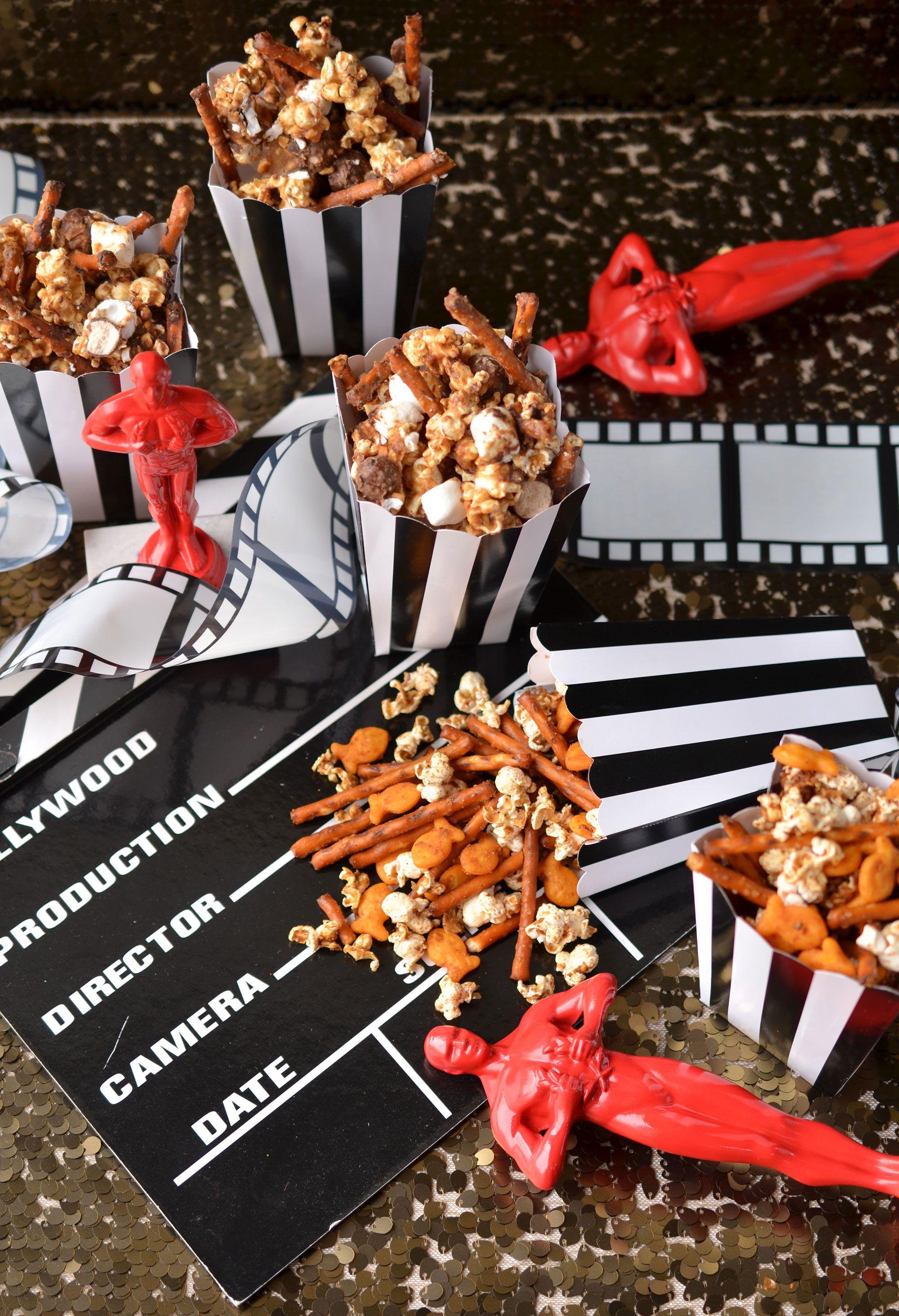 Ali Hedin Oscar Popcorn Snack Mixes Popcorn snacks mix