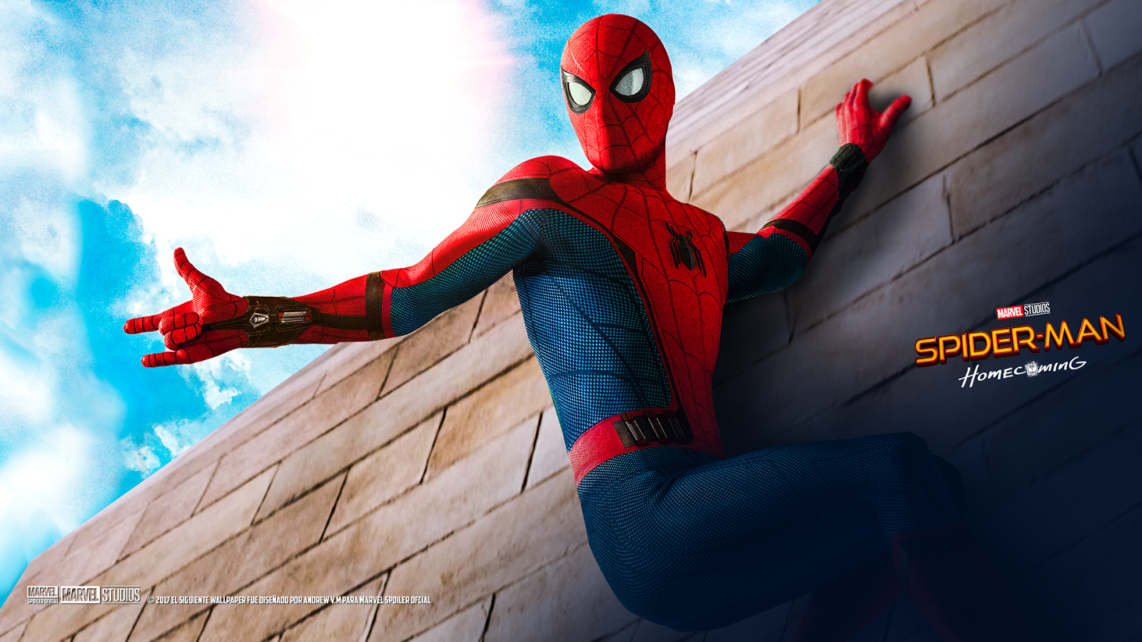 Spiderman Homecoming Movie Wallpaper 2017