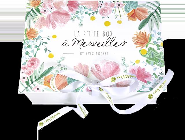 LA P'TITE BOX A MERVEILLES BY YVES ROCHER