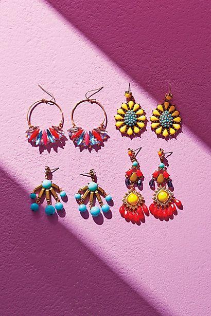 Pintado Earrings - anthropologie.com