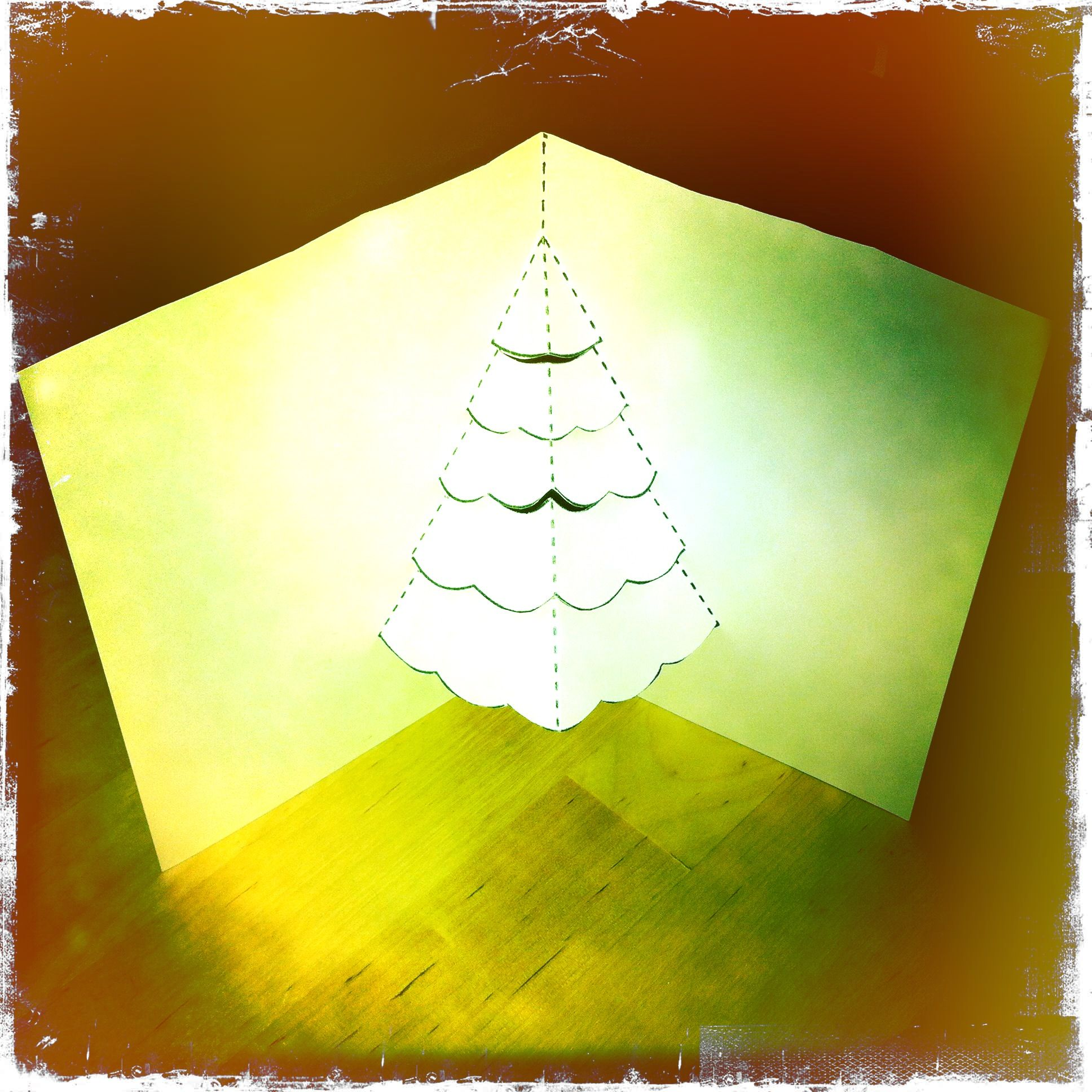 This Wonderful Christmas Tree PopUp Card Template Was Created For