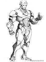 Iron Man 3 Dengan Gambar Halaman Mewarnai Gambar Iron Man