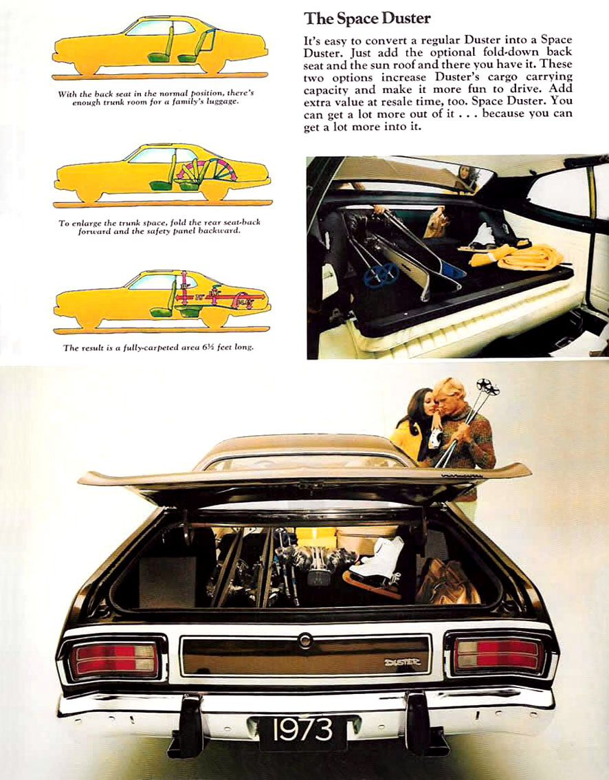 41k Miles 1974 Plymouth Gold Duster