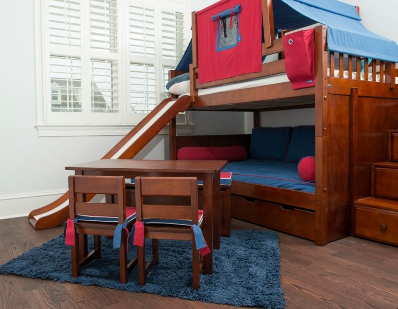Slide Beds With Images Bunk Bed With Slide Bunk Beds Cool